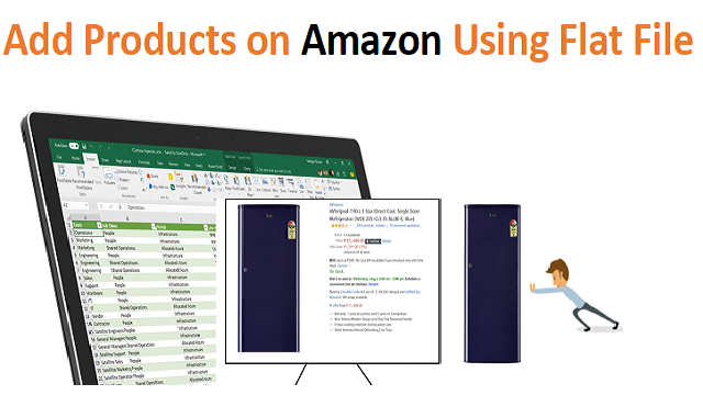 how to add products on amazon using flat file