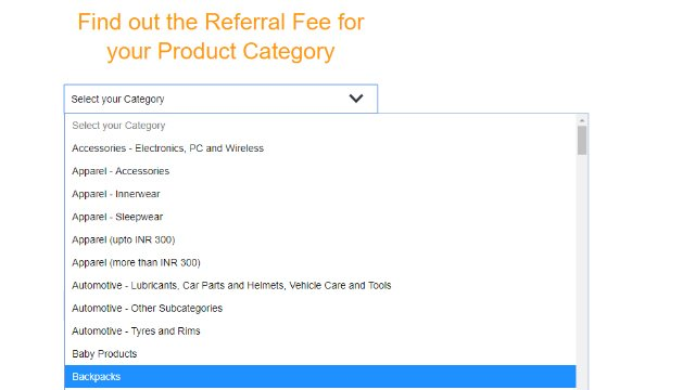 selling on amazon referral fees