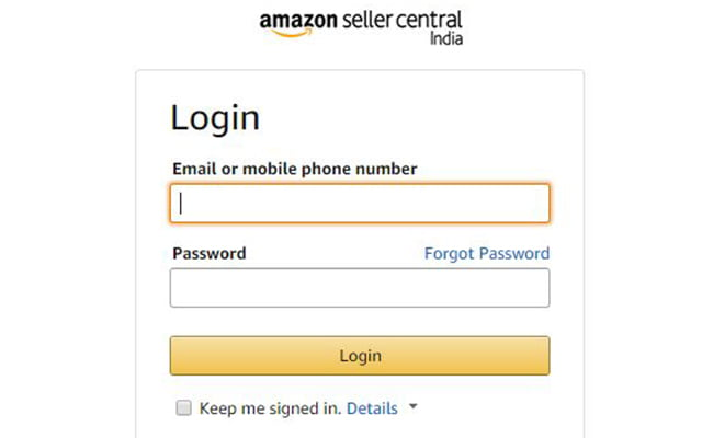 amazon-seller-central-login
