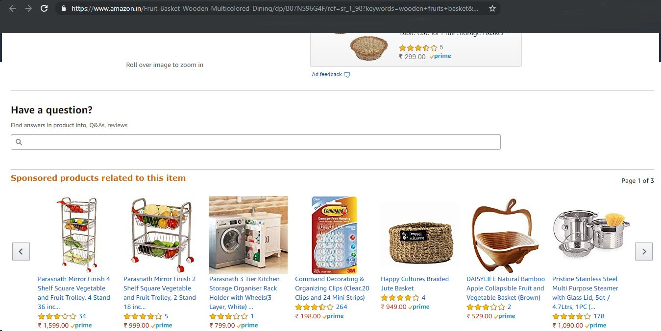 amazon sponsored products ads placement 2