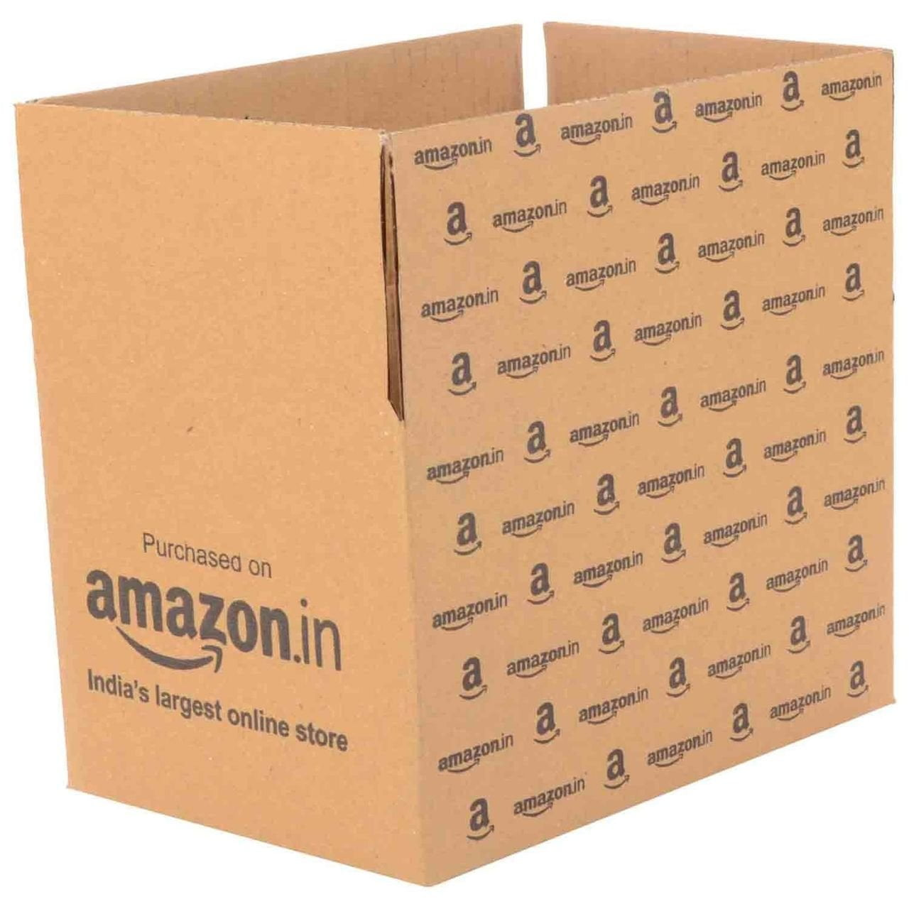 Amazon Corrugated Boxes (5x4.5x3.5-inch)